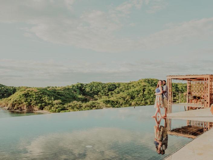 Merrit & Mithum, honeymoon at Casa Chameleon, Guanacaste, Costa Rica