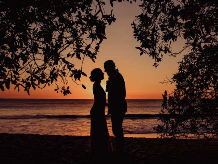 Brigitte & Thomas, beach wedding in Flamingo, Costa Rica