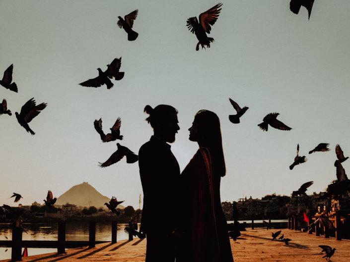 Saanvi & Tarun, Photoshoot at Pushkar, India 🇮🇳